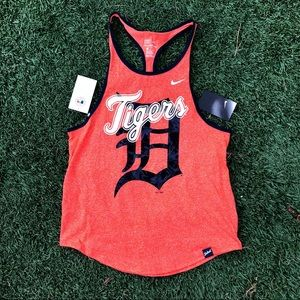 NWT Nike Detroit Tigers tank top tee workout top S